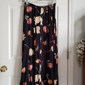 90's Vintage Floral Skirt